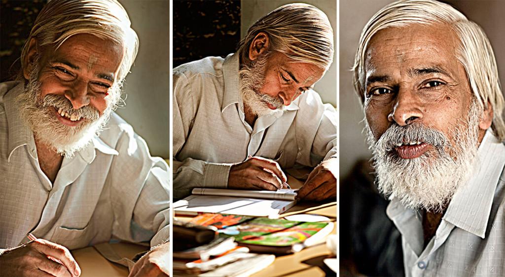 Portraiture Live: School Teacher Mr. Ravi Tamhane